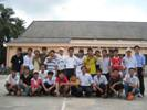 Soccer exchange with Tan Dong Parish